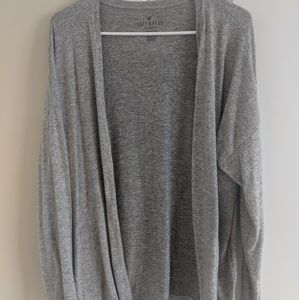 Grey AE cardigan